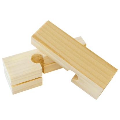 "Picture of 4"" Wood Line Blocks (5 Pairs)"