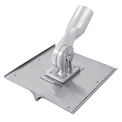 "Picture of 10"" x 10"" Stainless Steel Walking Seamer/Groover 3/4""R with Button Handle Socket"