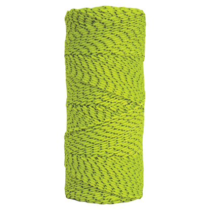 Picture of Green & Black Bonded Braided Nylon Line - 500' Tube